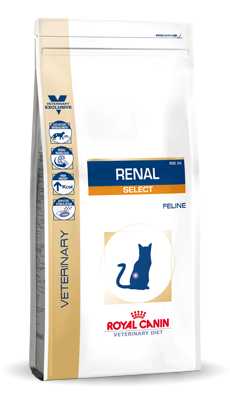 Royal Canin renal select 2kg kat