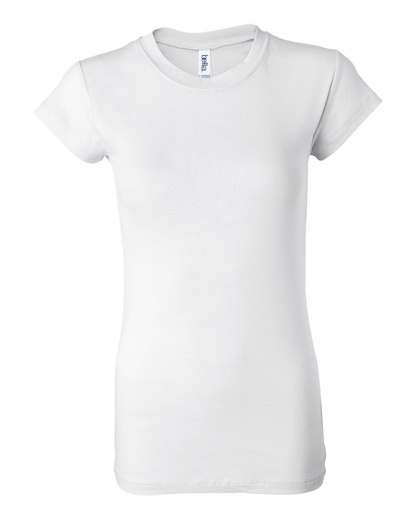 Bella  Canvas Women's Sheer Mini Rib Tee