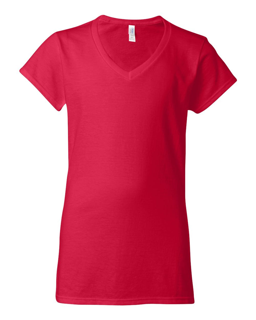 Gildan Softstyle Women'S V-Neck T-Shirt