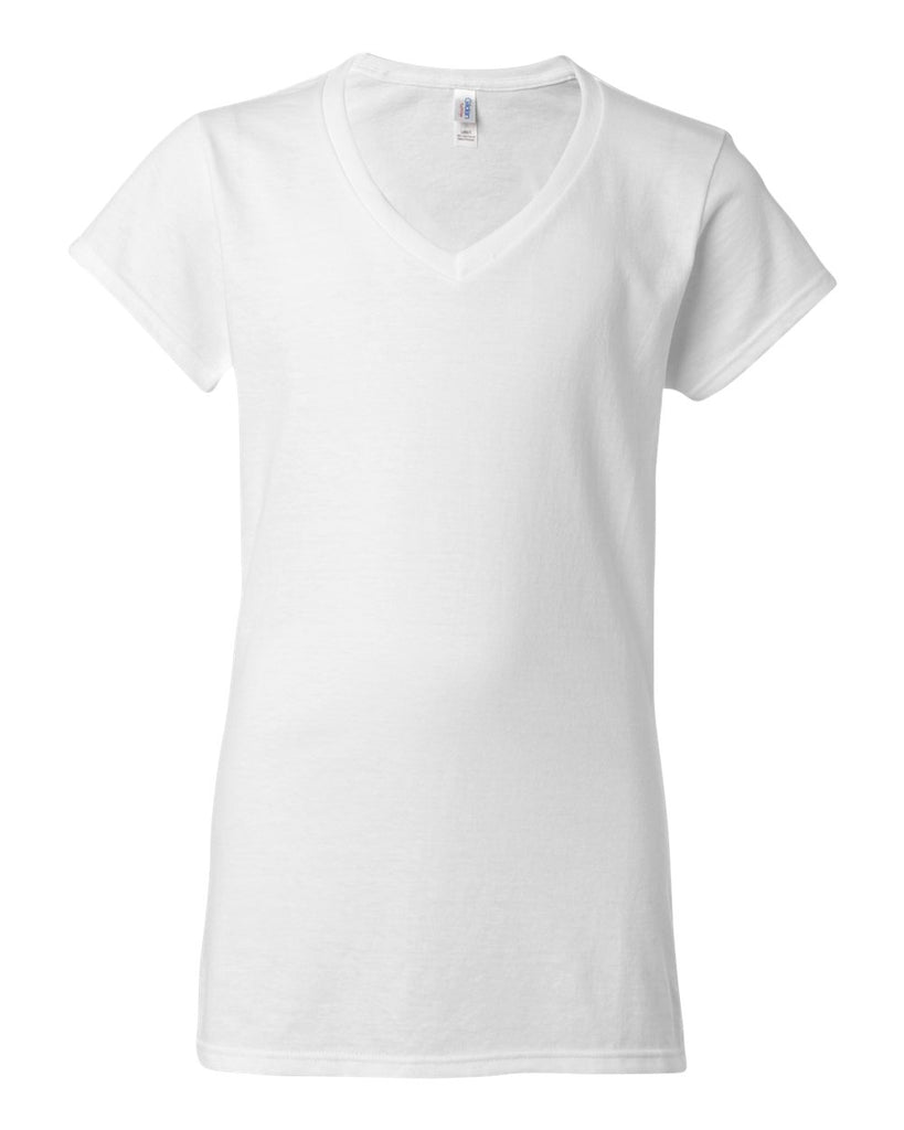 Gildan Softstyle Women'sV-Neck T-Shirt