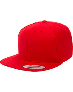 Yupoong 6089 - 6-Panel Structured Flat Visor Classic Snapback