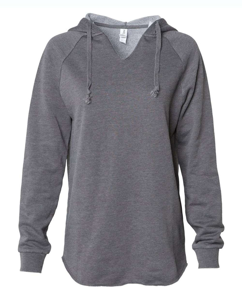 Independent Trading Co. Women'S Lightweight California Wave Wash Hooded Sweatshirt
