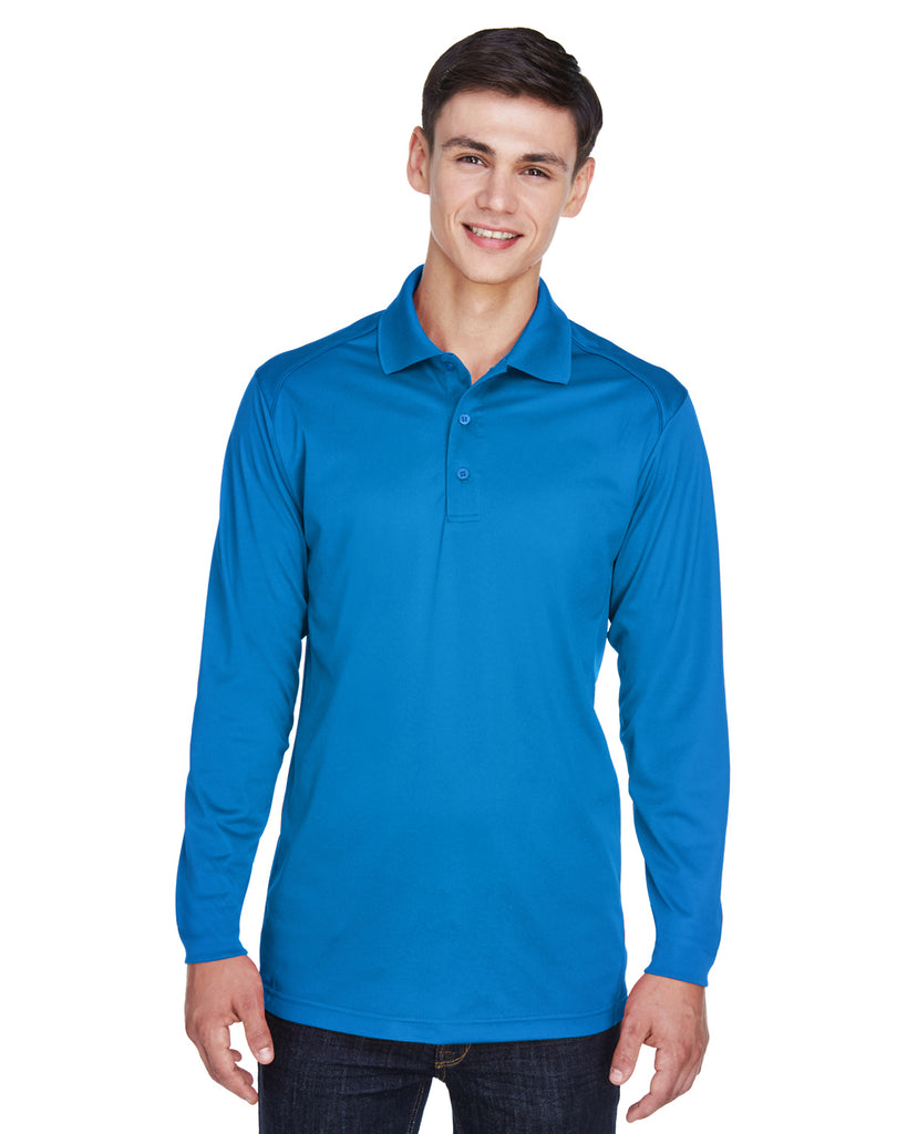 Ash City Extreme 85111T - Armour Men's Tall Eperformance™ Snag Protection Long Sleeve Polo