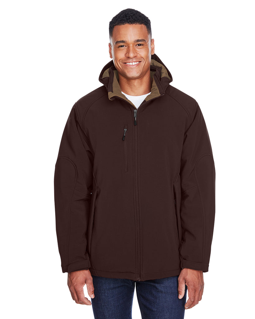 Ash City North End 88159 - Glacier Men Insulated Soft Shell Jacket With Detachable Hood