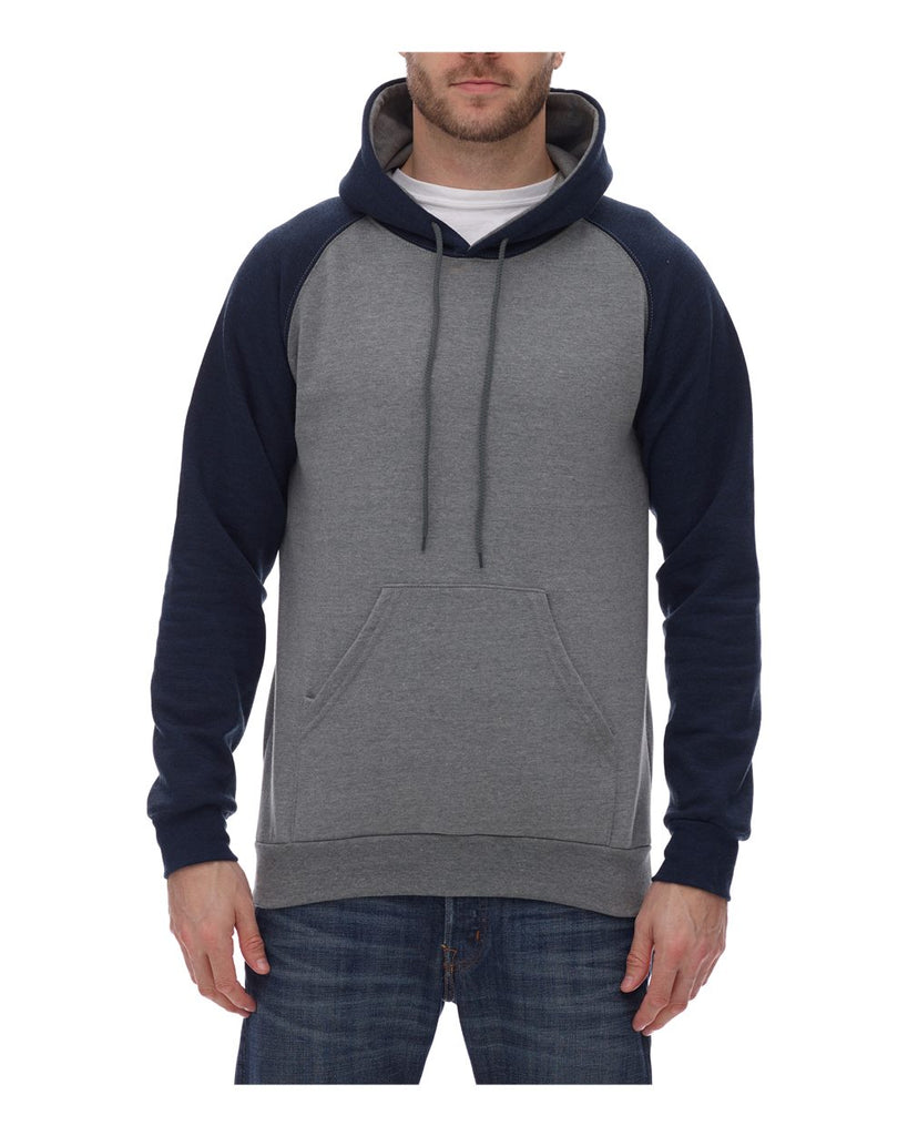 King Fashion Fleece Raglan Hooded Sweatshirt