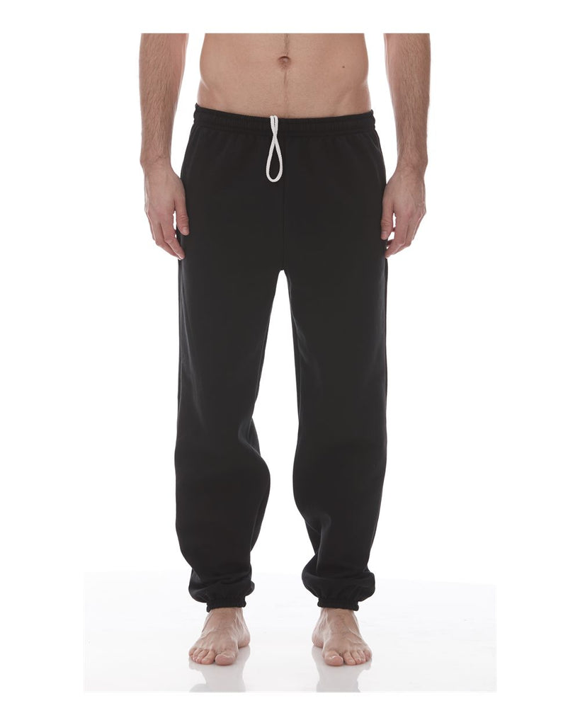 King Fashion Pocketed Sweatpants With Elastic Cuffs