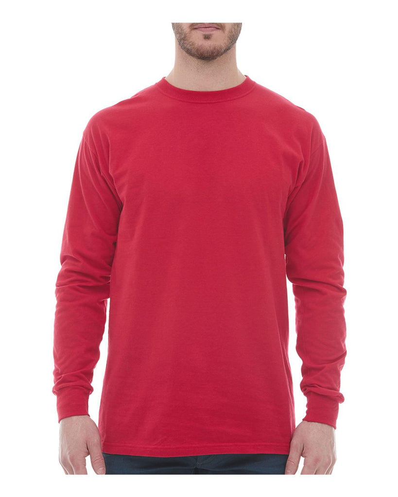 M&O Ring-Spun Long Sleeve T-Shirt