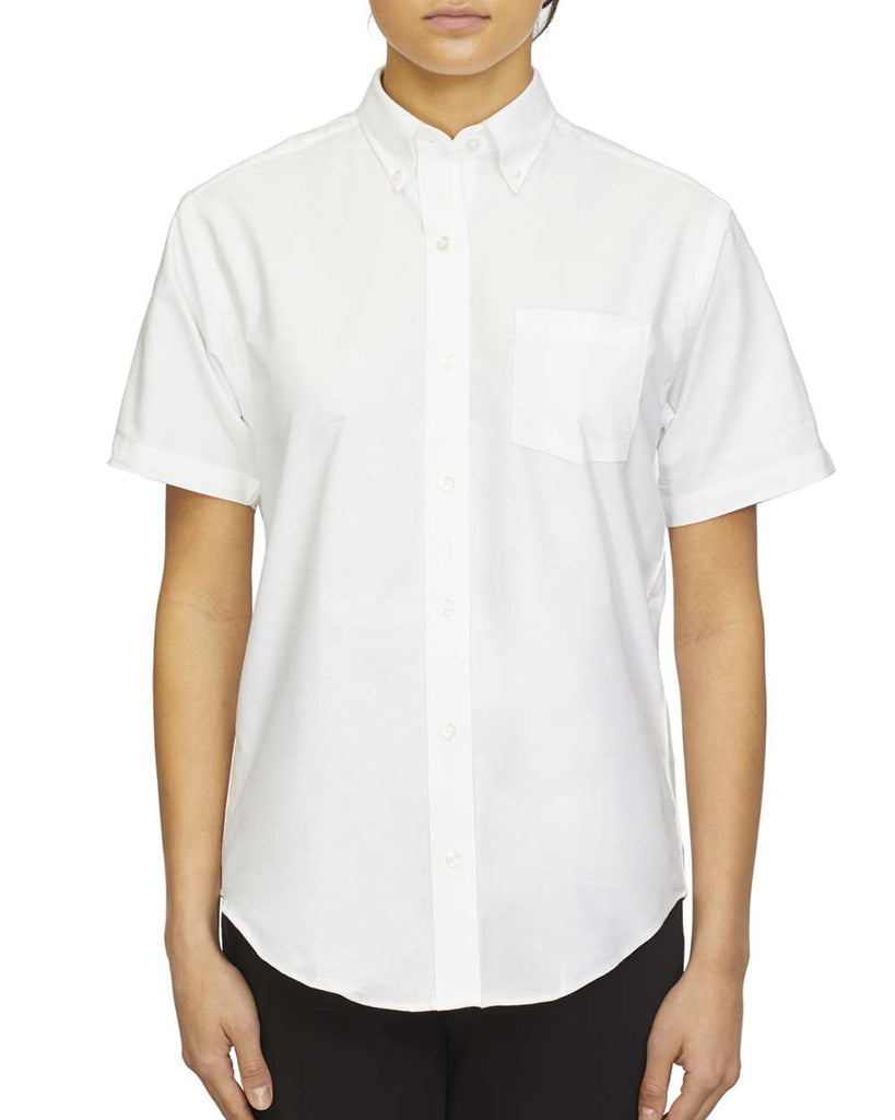 Van Heusen Women's Oxford Short Sleeve Shirt