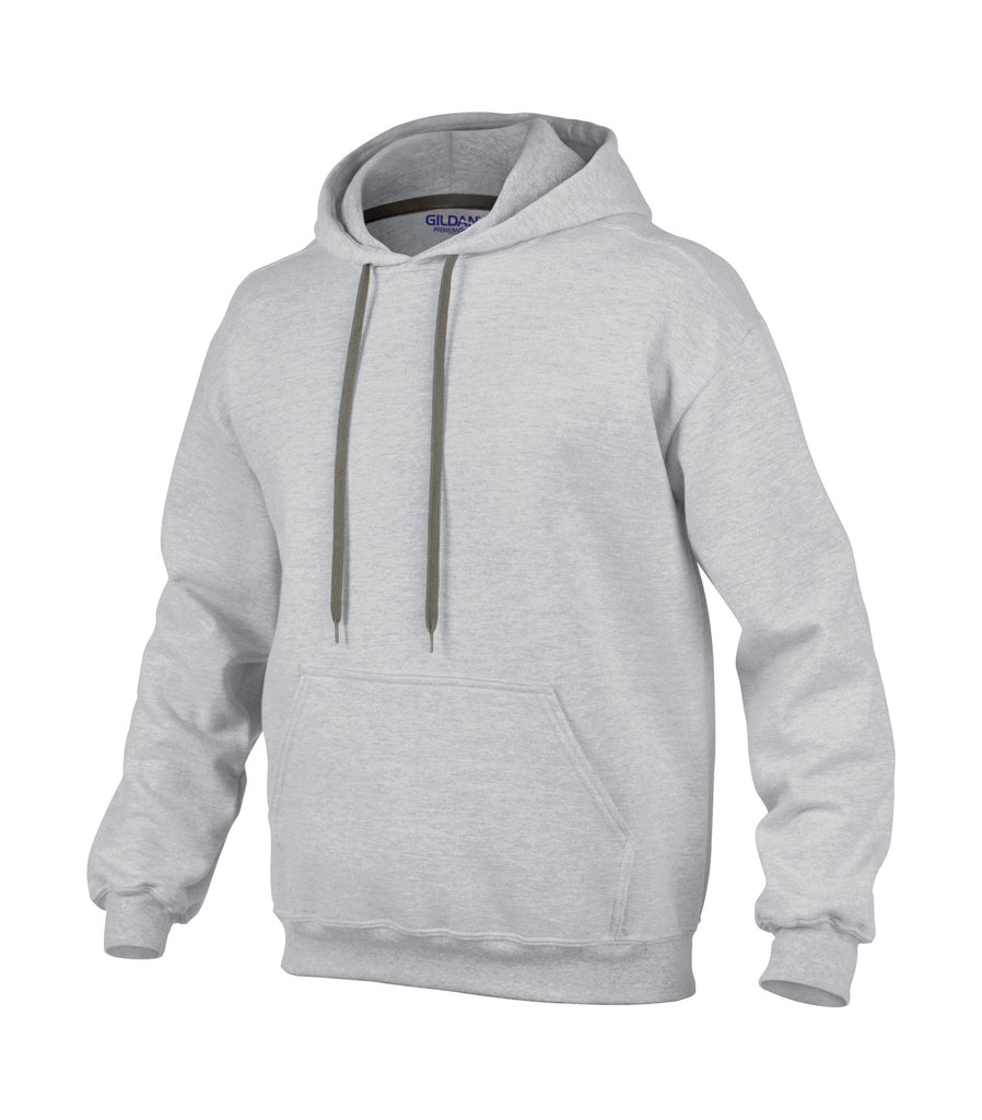Gildan 92500 Premium Cotton Ring Spun Fleece Hooded Sweatshirt