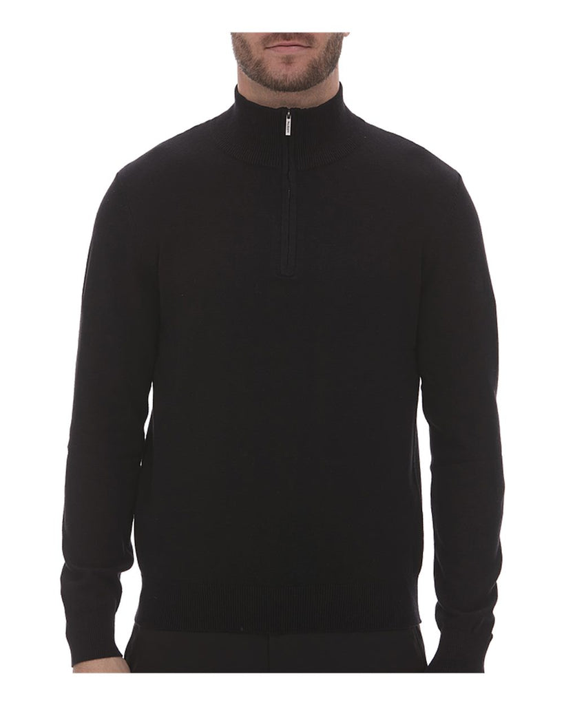 Van Heusen Quarter-Zip Sweater