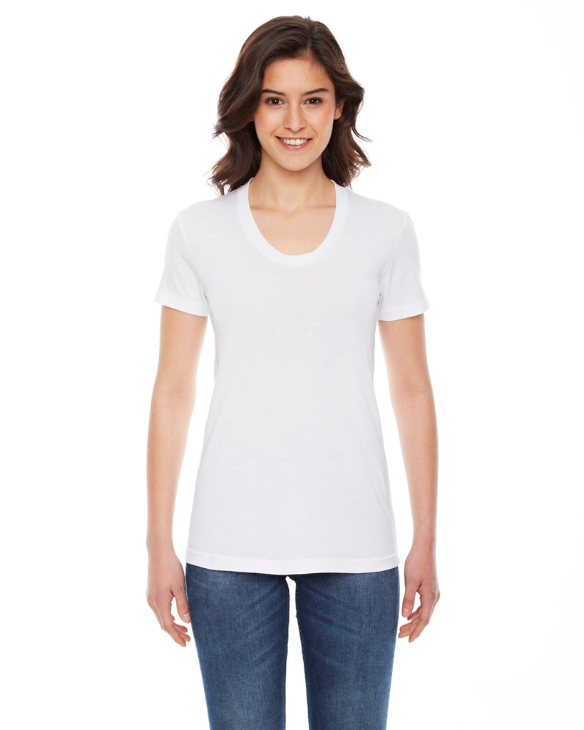 American Apparel BB301W - Ladies Poly-Cotton Short-Sleeve Crewneck