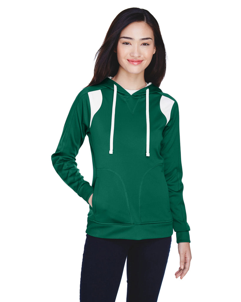 Team 365 TT30W Ladies' Elite Performance Hoodie Sweatshirt