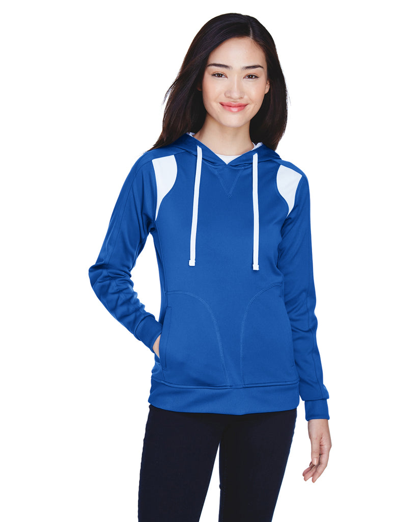 Team 365 TT30W Ladies Elite Performance Hoodie Sweatshirt