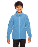 Team 365 TT90Y Youth Campus Microfleece Jacket