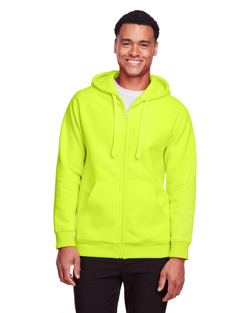 Team 365 TT95 Adult Zone HydroSport™ Heavyweight Full Zip Hooded Sweatshirt