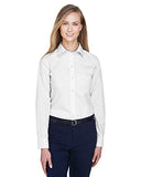 Devon & Jones Ladies Crown Woven Collection Solid Broadcloth  D620W