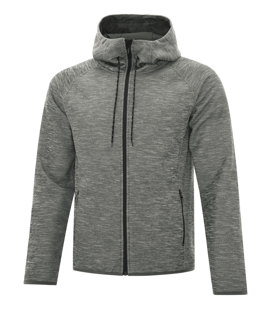 Dryframe DF7655 Dry Tech Fleece Full Zip Hooded Jacket