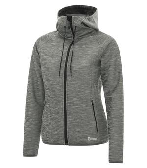 Dryframe DF7655L Dry Tech Fleece Full Zip Hooded Ladies Jacket