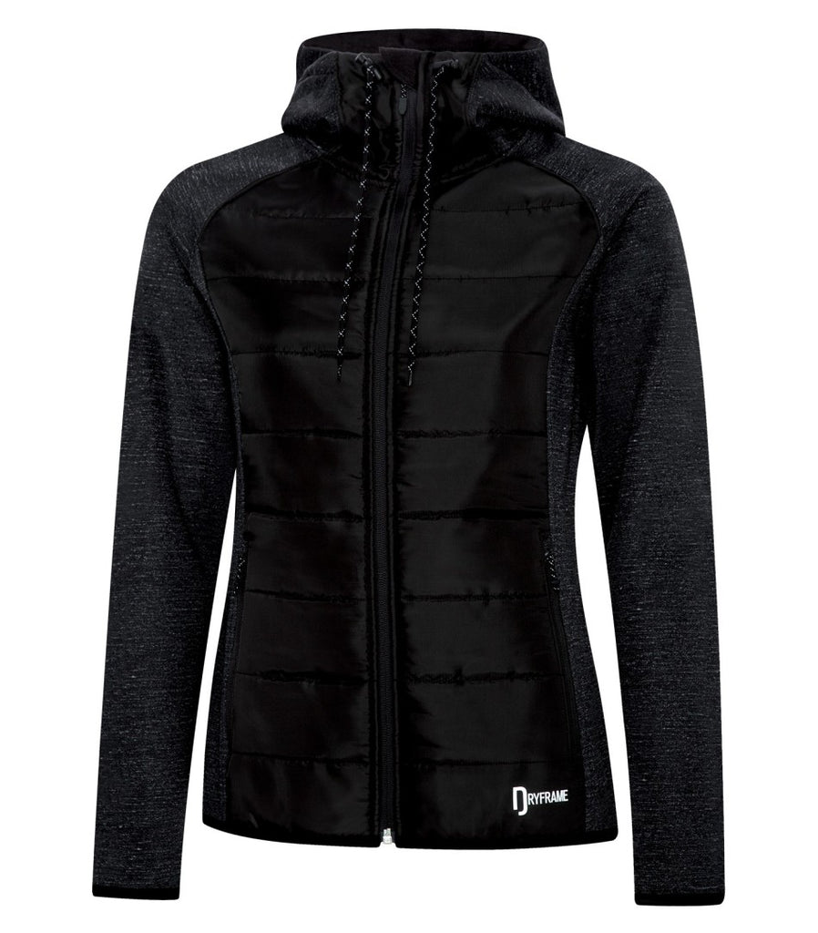 Dryframe DF7680L Dry Tech Insulated Fleece Ladies Jacket