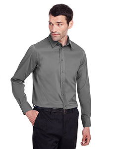 Devon & Jones Mens Crown Collection Stretch Broadcloth Slim Fit Shirt  DG560