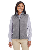 Devon & Jones Ladies Newbury Mélange Fleece Vest  DG797W