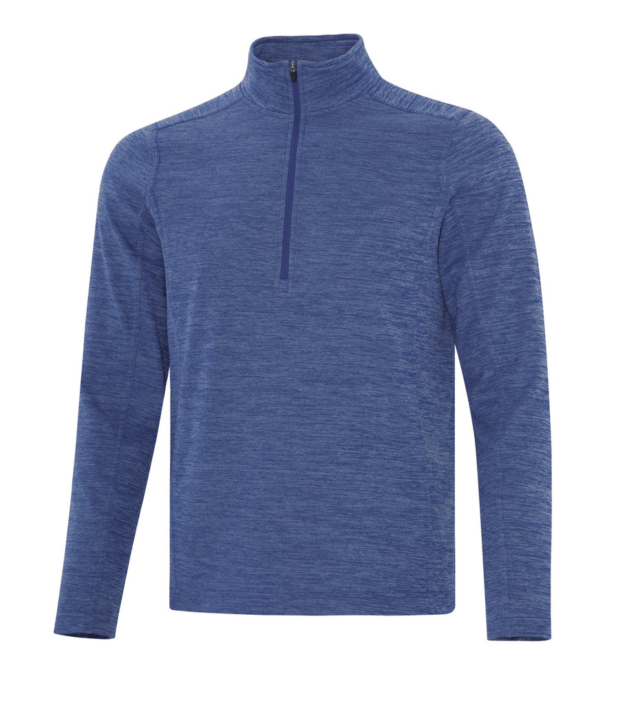 ATC F2022 Dynamic Heather Fleece 1/2 Zip Sweatshirt