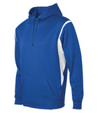 PTECH F2201 Fleece Varcity Hooded Sweatshirt