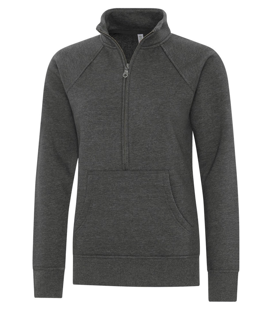 Atc™ Esactive® Vintage 1/2 Zip Ladies' Sweatshirt
