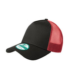 New Era NE205 - Black/Scarlet - OSFA