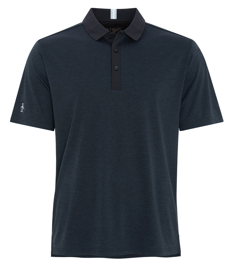 original penguin intarsia heathered polo ogksa0a0