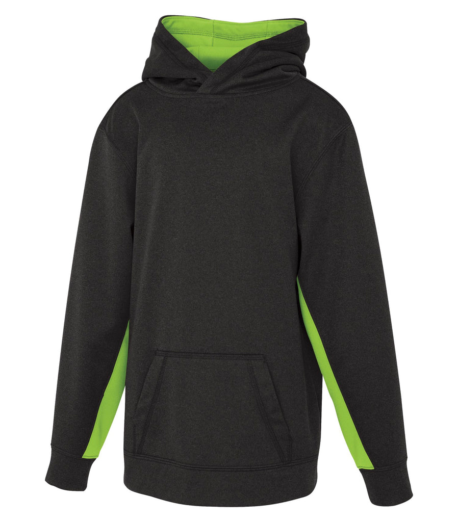 Game Day Y2011 Fleece Colour Block Hooded Youth Sweatshirt