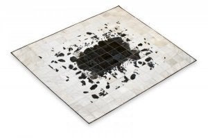 Cowhide Patchwork Rug. Directly from Factory. Handmade. Choose your own Design and size. Peau de Vache. Piel de Vaca