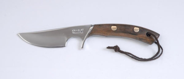Argentine Gaucho Wood Handle Knife. Stainless Steel 420 Mo Va. Mission Argentina.