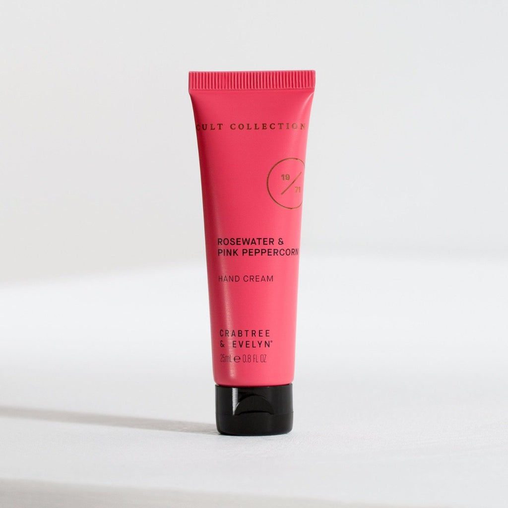 Rosewater & Pink Peppercorn Hand Cream - 25ml