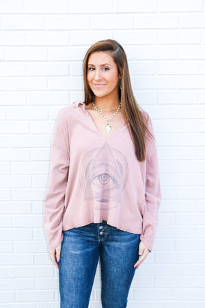 Magnolia Pearl Eye of Eternity Tory Pullover