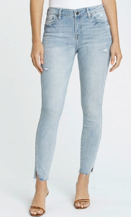 Pistola - Audrey Mid Rise Skinny with hem vent - Seashore