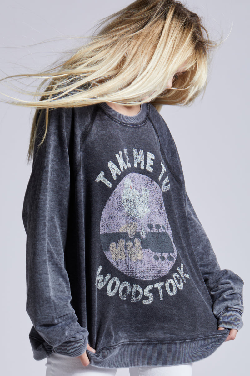 Recycled Karma Woodstock Sweatshirt