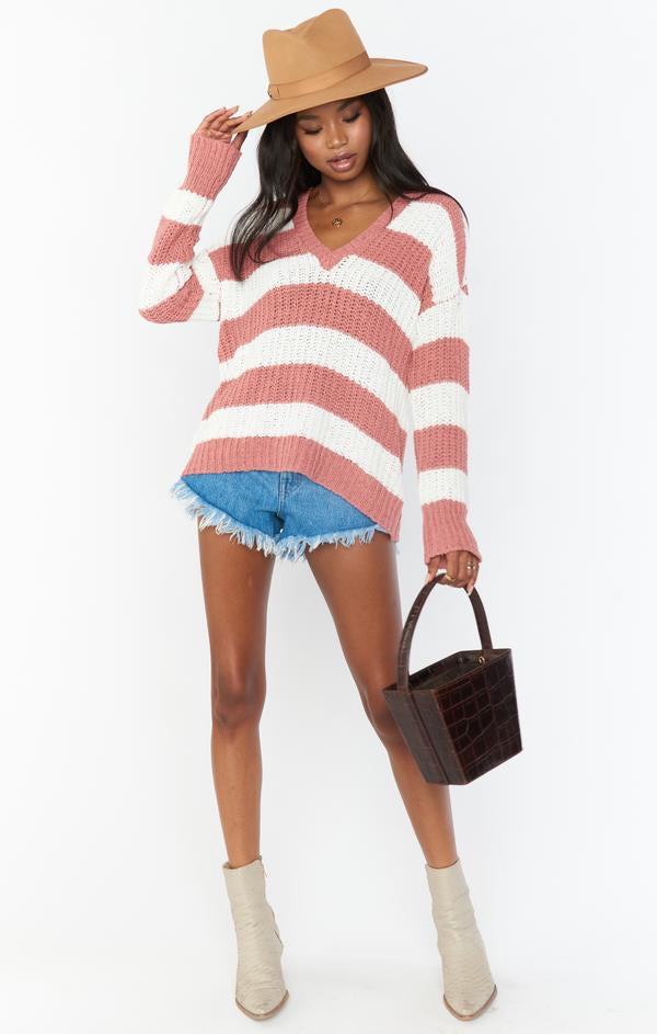 MUMU- Shaw Sweater