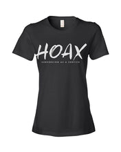 Load image into Gallery viewer, Hoax T-Shirt in Women's Black