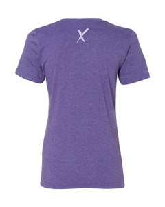 Hoax T-Shirt in Women's Purple