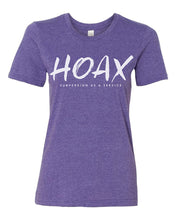 Load image into Gallery viewer, Hoax T-Shirt in Women's Purple