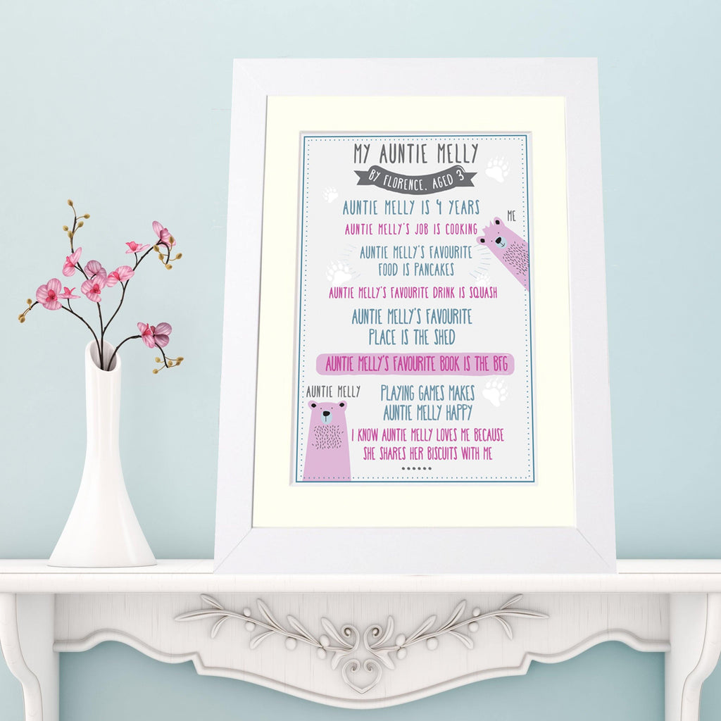 Personalised 'My Grandma' Print