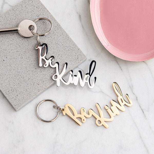 Be Kind Keyring - MW Studio