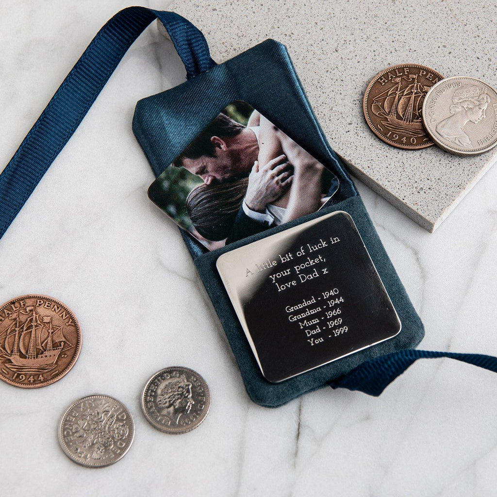 Family Lucky Coins pouch - MW Studio
