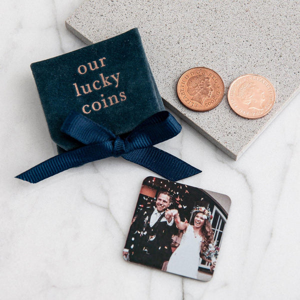 Wedding Day/Anniversary Lucky Coins pouch