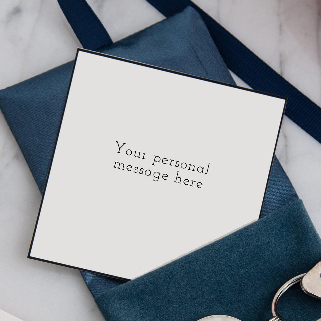 Personal message card - MW Studio