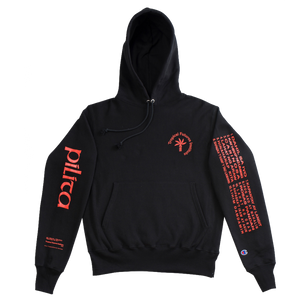 Philippine Love Songs Hoodie - Black/Red
