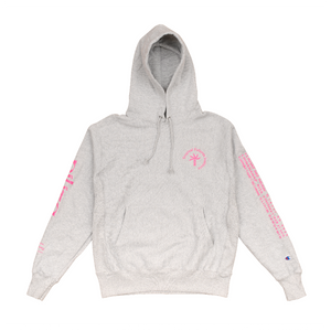 Philippine Love Songs Hoodie - Grey/Pink