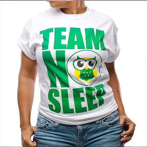 Team NO Sleep White-WOMEN