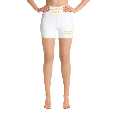 Warrior Woman Yoga Shorts